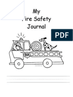 Fire Safety Journal With Boxes