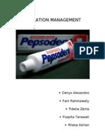 Operation Management, PT Unilever Indonesia