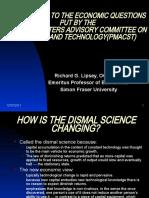 PMACST - Richard Lipsey Presentation