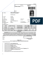 Admit Card- Rmat