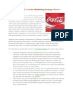 Emerging Role of IT in the Marketing Strategy of Coca