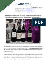 Wine PR 15 and 16 June 2011