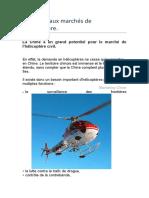 Les nouveaux marchés de l'hélicoptère