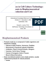 Bio Pharmaceutical Production Cost