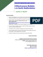 Clinical Effectiveness Bulletin no.52 May 2011
