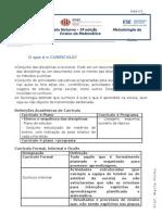 Aula 1 - Currículo e Programas (ficha informativa)