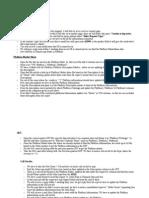 Platform Report