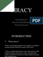 Presentation on Piracy