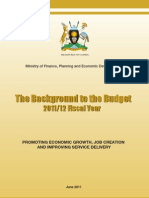 Background to the Budget 2011