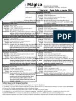 Calendario de talleres y seminario para Junio, Julio y Agosto 2011