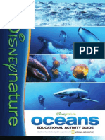 Disneynature OCEANS Activity Guide 8-Page