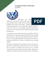 Polo Hatchback and Vento Sedan