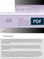 This Month in Real Estate June 2011