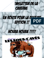 News Letter Fous-caves