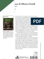 """""""Il diritto di pace di Alberico Gentili"""" di Giorgio Badiali (il Sirente)"""