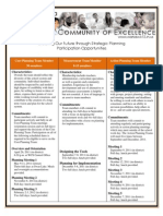 Strategic Planning Participation Opportunities