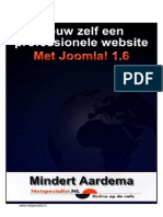 Joomla 1.6 eBook - Bouw Zelf Een Professionele Website