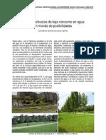Arboles y Arbustos Poco Consumo de Agua