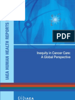 Inequity Cancer Care-IAEA