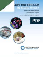 Fibrcell Bio Reactor Brochure