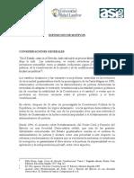 Propuesta de reforma Constitucional en seguridad y Justicia