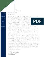 Norquist Letter
