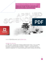 Applied Sciences Cluster