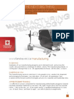 Manufacturing Technology Cluster