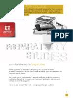 Preparatory Studies Cluster