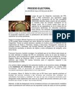 Preoceso Electoral 2011-2012