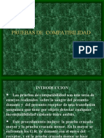 PRUEBAS DE COMPATIBILIDAD