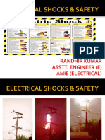 Electrical Shocks and Safety