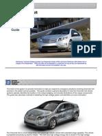 2011 Chevrolet Volt Emergency Response Guide