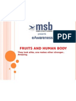 20199751 Fruits and Human Body