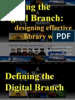 Building the Digital Branch