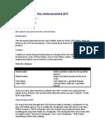 Undoc QTP Functions