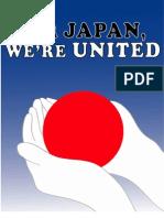 """""""For Japan, We're United"""" Fundraiser Program, 6/9/2011"""