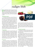 Sweet Paradigm Shift