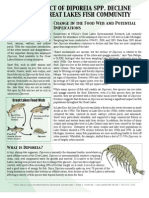 The Impact of Diporeia Spp. Decline on the Great Lakes Fish Community