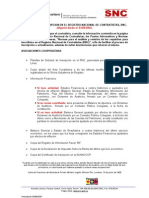 Requisitos Del Rnc