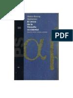 El Inicio de La Filosofia Occidental (Hans Georg Gadamer)