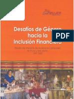 Desafíos de género hacia la inclusión financiera