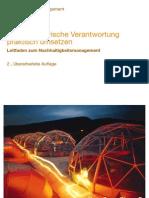Unternehmerische Verantwortung Praktisch Umsetzen - Bericht Von PWC