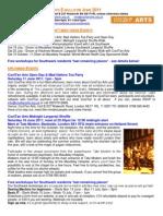 CoolTan Arts E-Bulletin June 2011