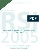 Reg. Sanitário Internacional