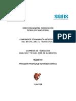 Módulo III Procesar productos  de origen cárnicos