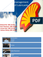 Supply Chain of Shell