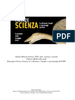 Analise Mostra Firenze Scienza