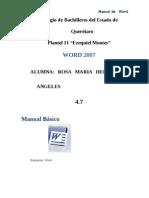 Manual de Word Rosa Maria
