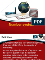 Number System Lesson1